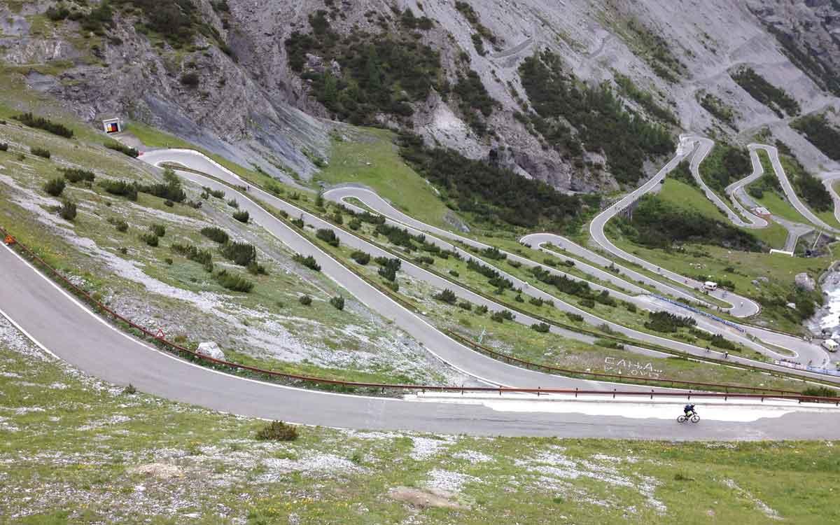 Pass Stelvio Bici